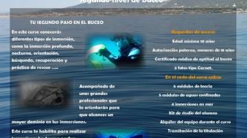 Oferta Avanzado + Nitrox 310€