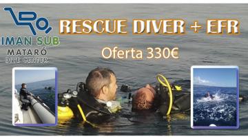 curso rescue + efr en mataro